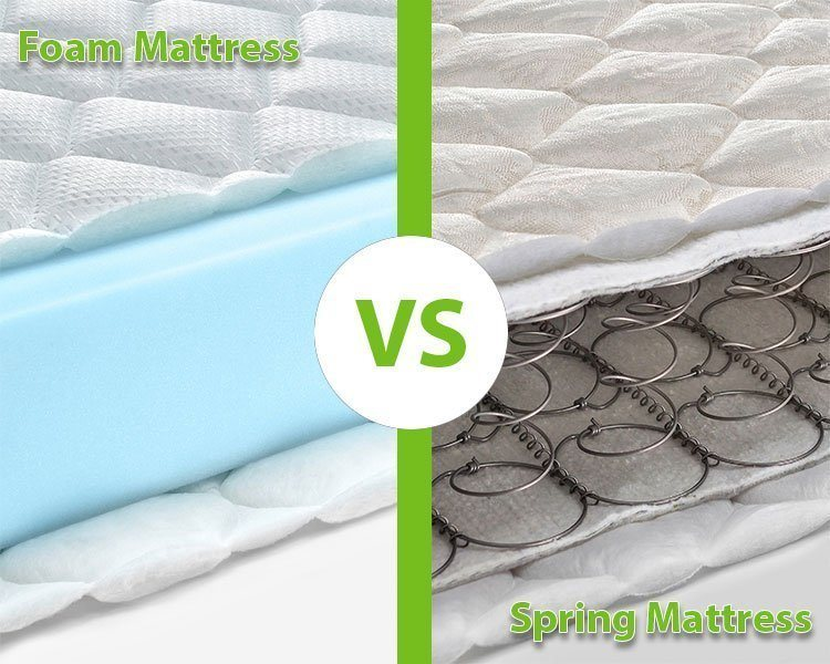 Which Is Best Memory Foam Vs Spring Mattress Ghostbed
